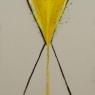 11. Mystieke Zandloper, I en II / Mysticalcal Hourglass , I en II, 1.70x58 cm