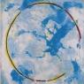Blue Cosmos, 150x120cm