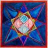 10. Stervormige mandala / Star-shaped mandala, 1.07x1.05cm